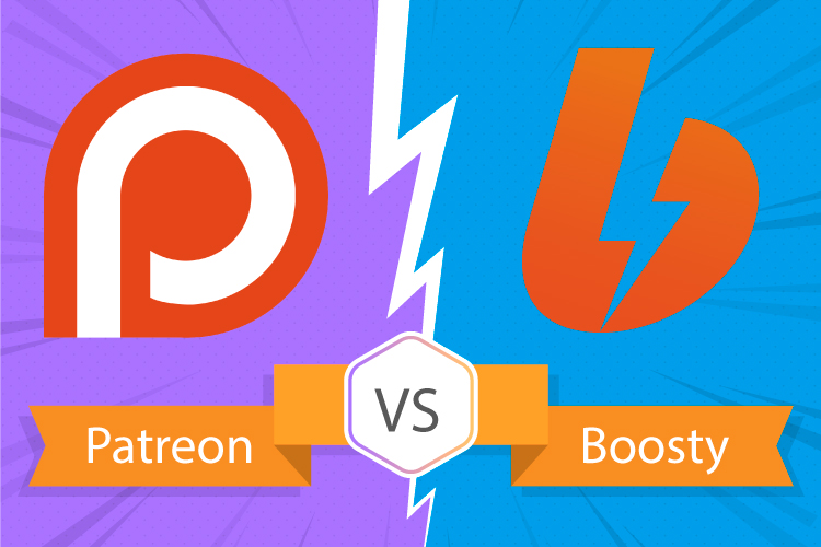 Patreon vs Boosty
